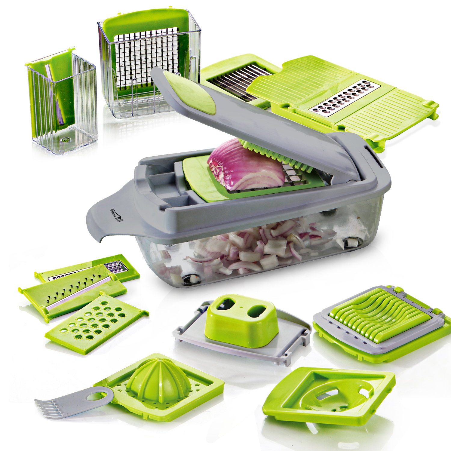 HomePuff Nicer Dicer Plus & Julienne Slicer